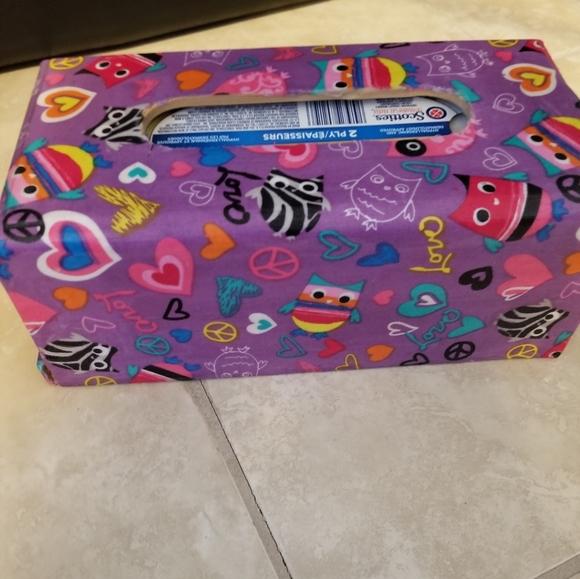 Handmade Kleenex box holder